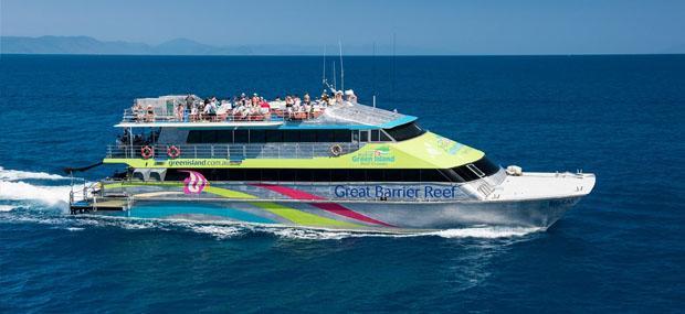 大猫-绿岛-游船-凯恩斯-大堡礁