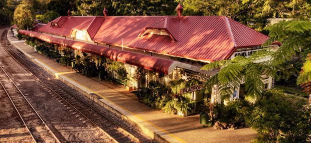 库兰达-景观火车-库兰达站