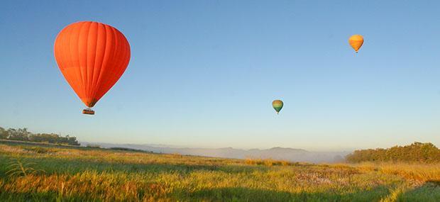 布里斯班-热气球-飞行-澳大利亚