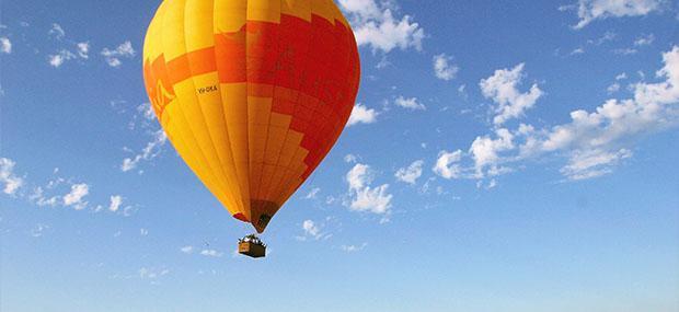 Hot Air Balloon Cairns sky