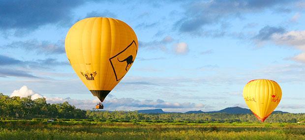 热气球-黄金海岸-腹地-美景-风景-飞行-特别