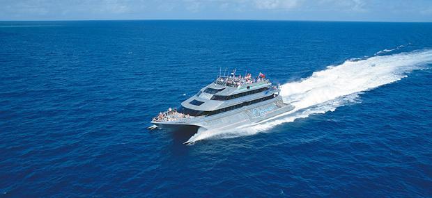 银梭号-大堡礁-阿金考特-外堡礁-双体-快艇-豪华